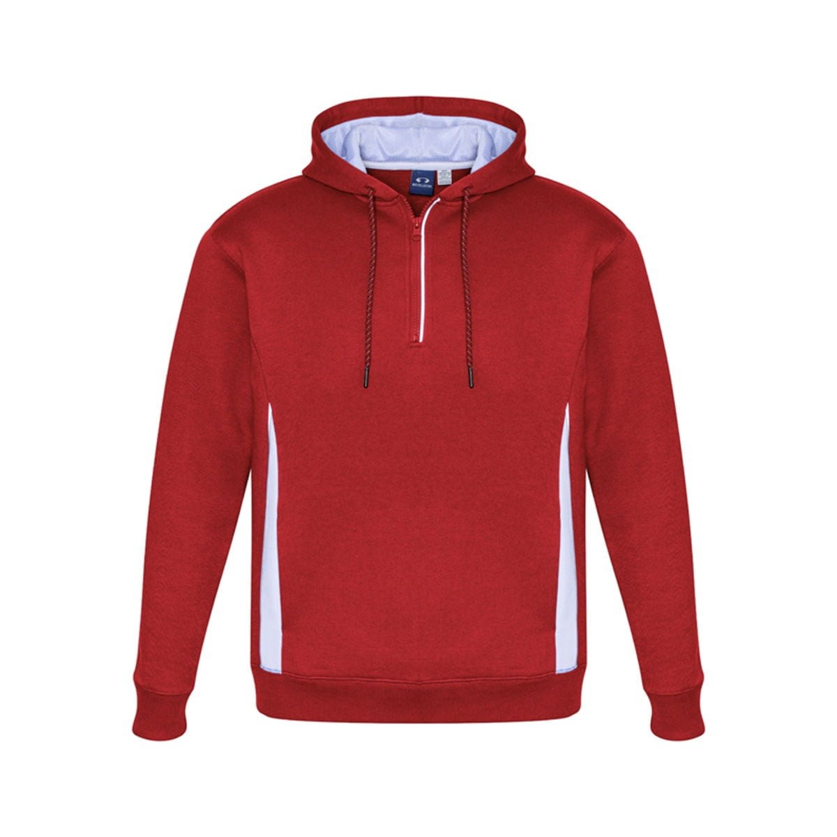 Adults Renegade Hoodie-Red / White / Silver