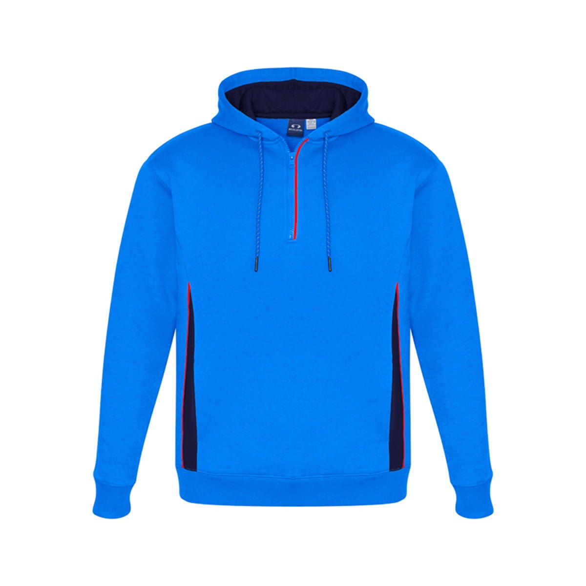 Adults Renegade Hoodie-Royal / Navy / Fluoro Orange