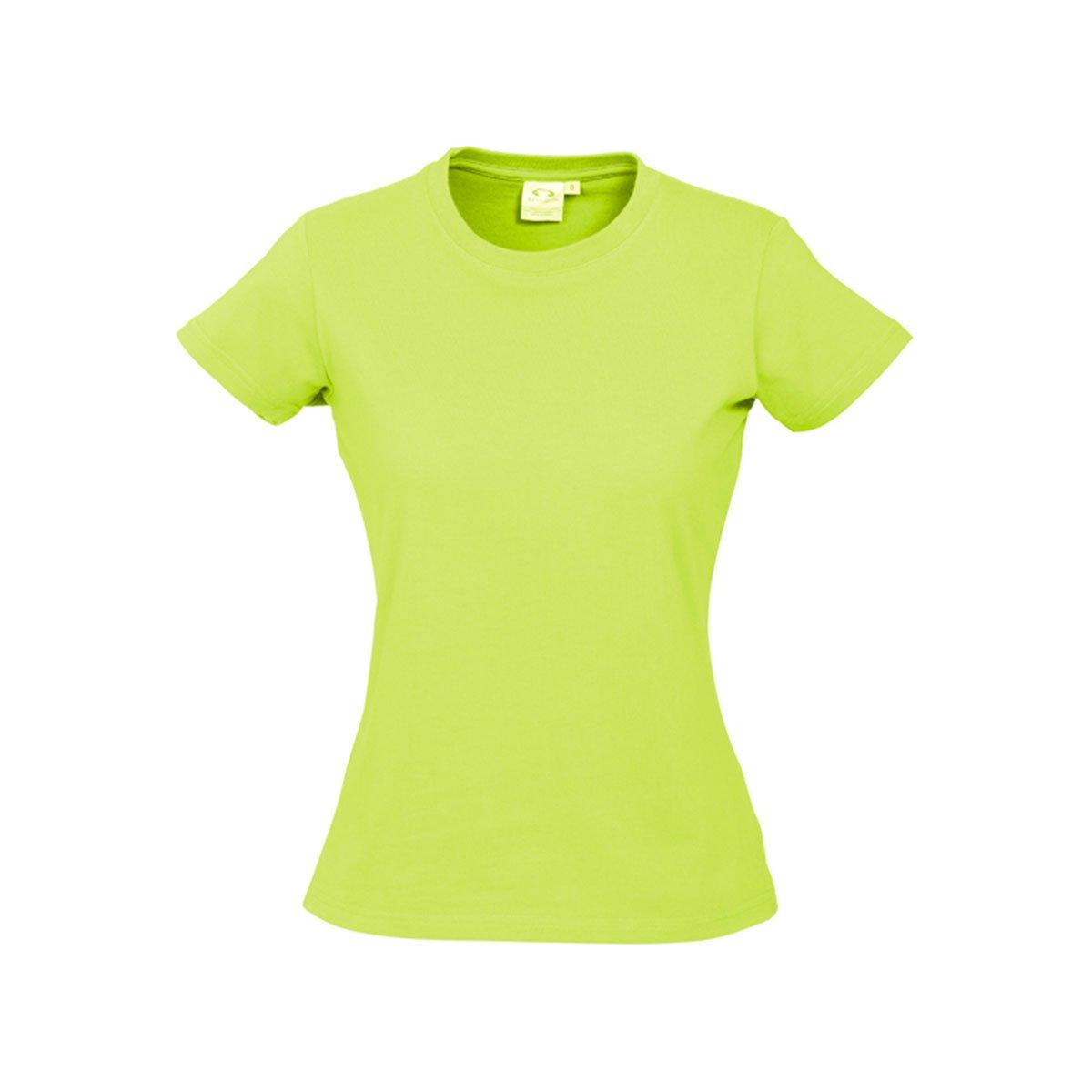 Ladies Ice Tee-Fluoro Yellow / Lime