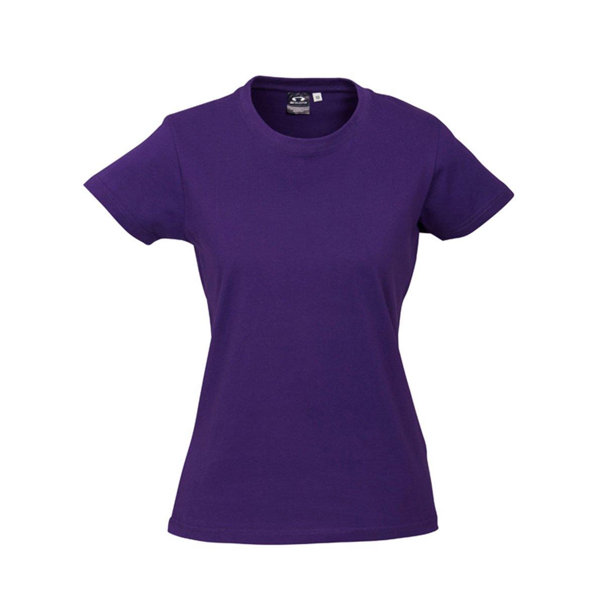 Ladies Ice Tee-Purple