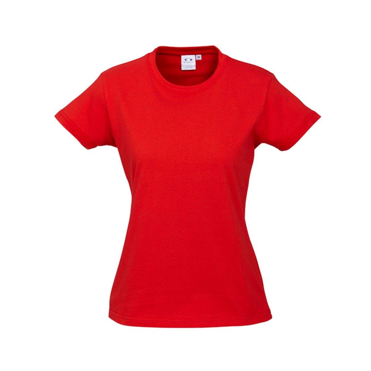 Ladies Ice Tee-Red