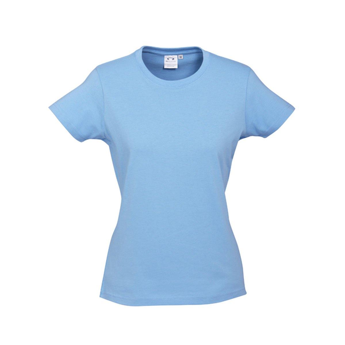 Ladies Ice Tee-Spring Blue