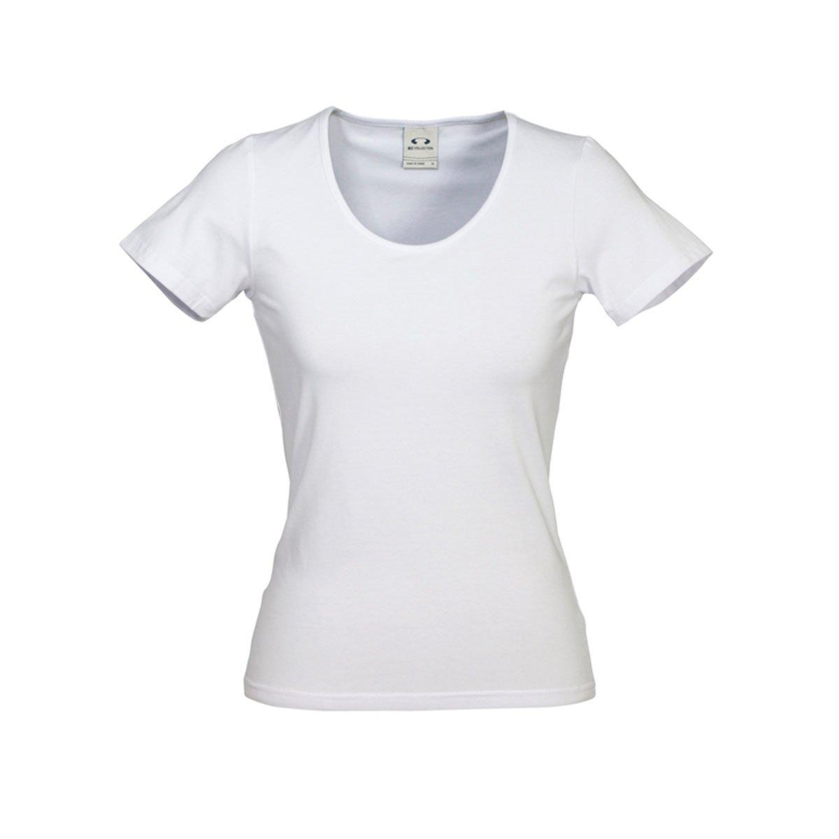 Ladies Vibe Tee-White