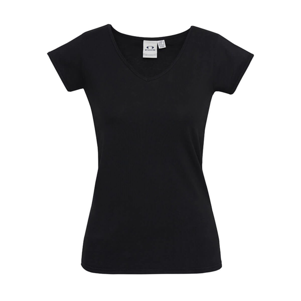 Ladies Viva Tee-Black