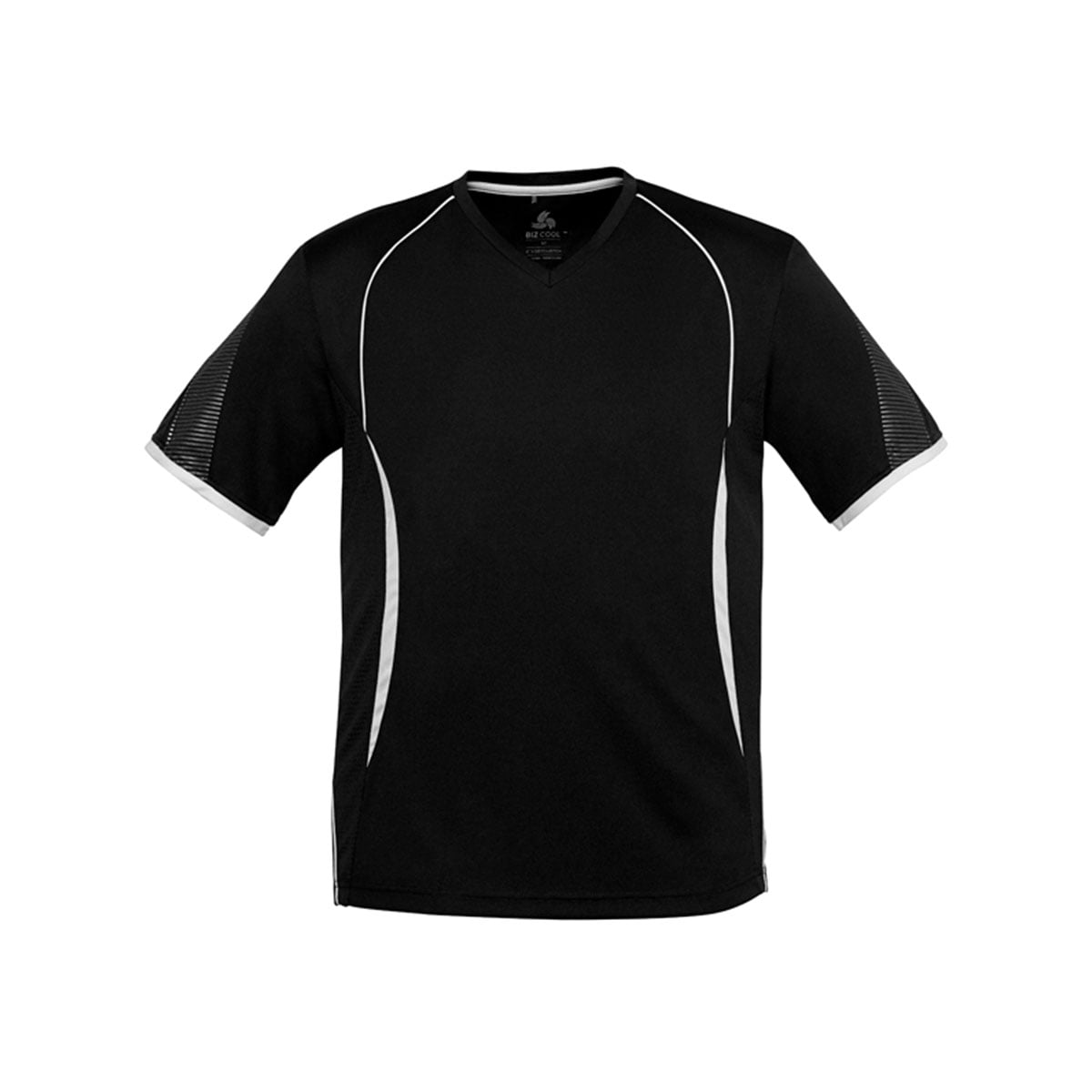 Mens Razor Tee-Black / White