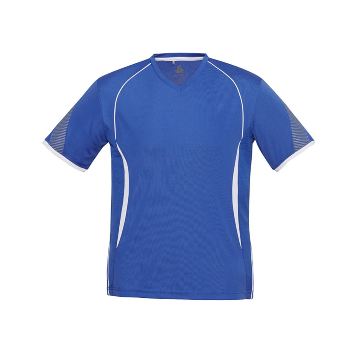 Mens Razor Tee-Royal / White
