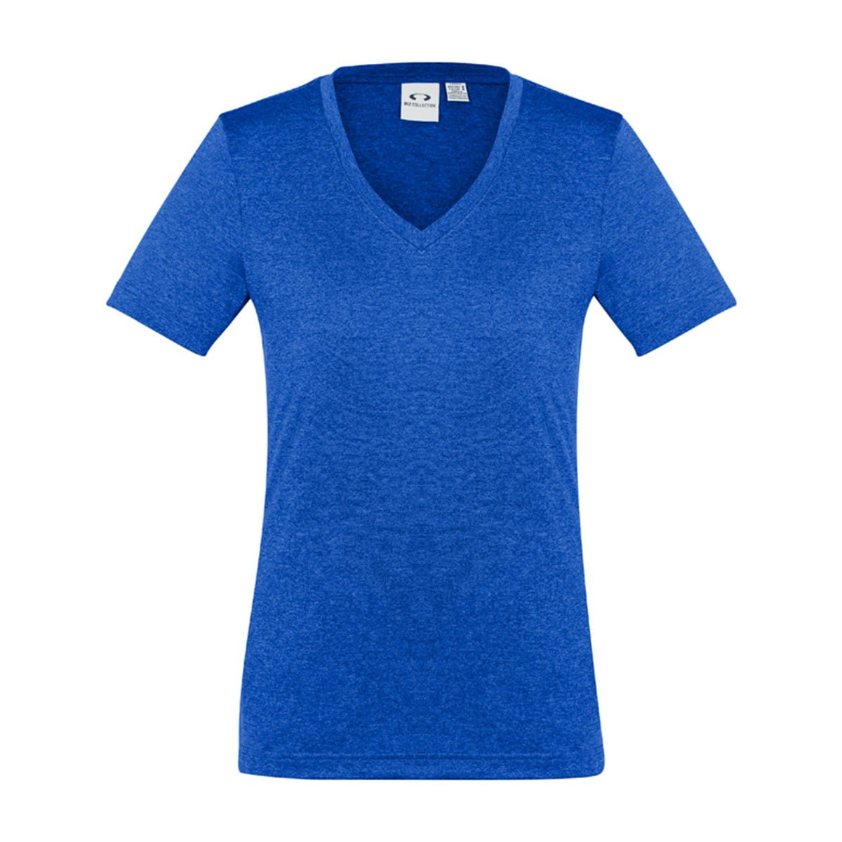 Ladies Aero Tee-Electric Blue