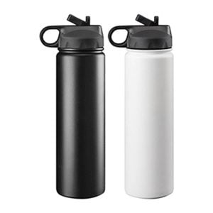 Trekk Double Walled Stainless Drink Bottle - Black