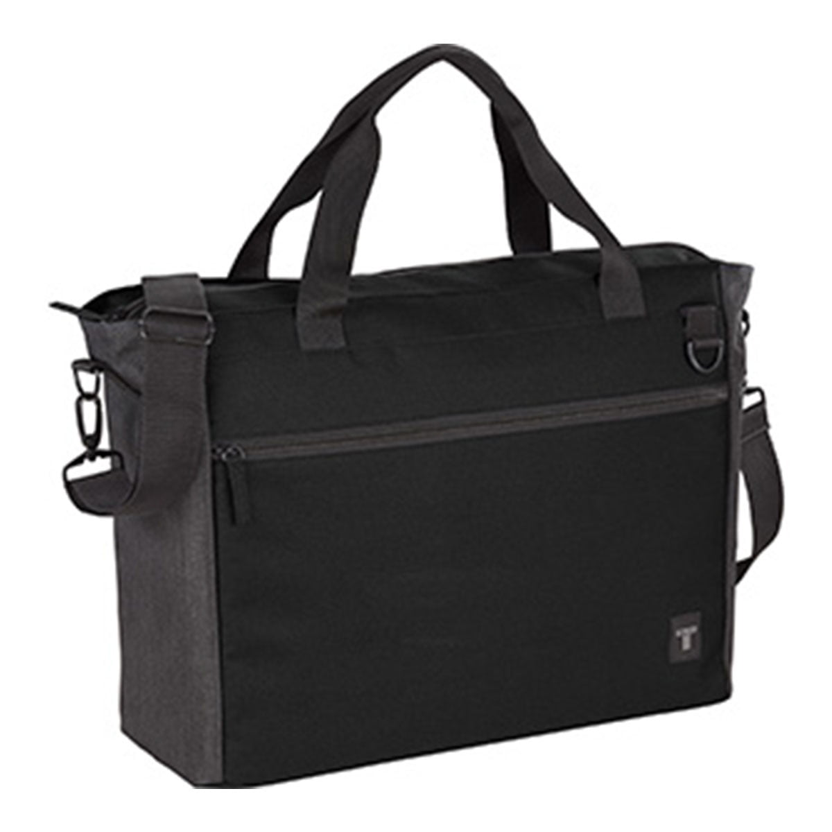 Tranzip Brief 15 inch Computer Tote-Black