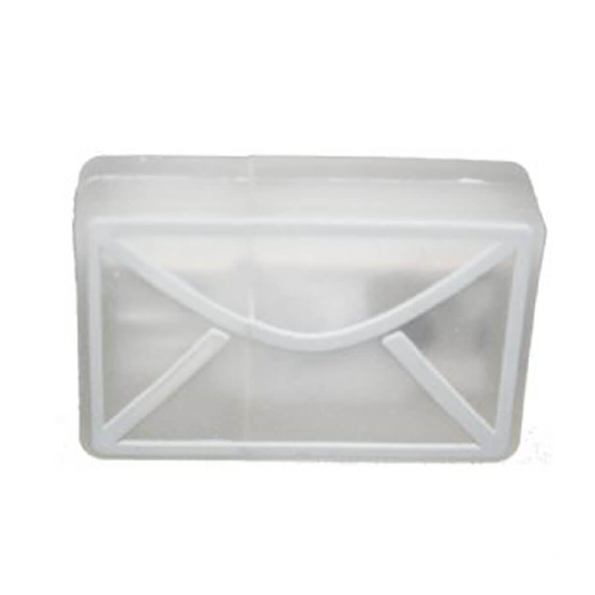 Envelope (with LED) PVC Flash Drive-You can change up to 2 of the base PVC colours and print your logo in 1-2 colours in 1 position.