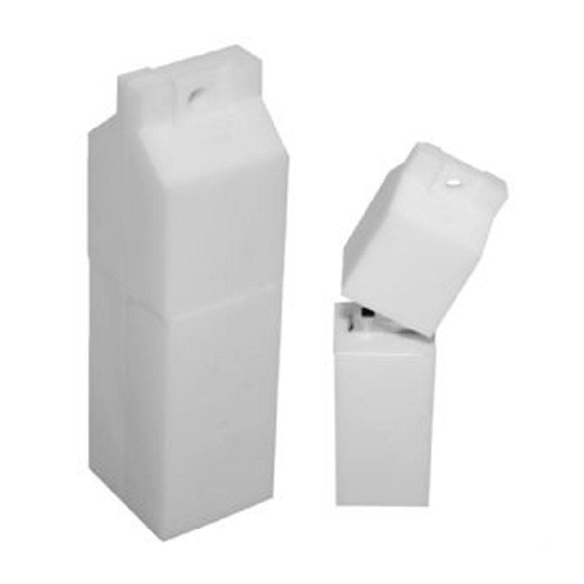Carton PVC Flash Drive-You can change up to 2 of the base PVC colours and print your logo in 1-2 colours in 1 position.