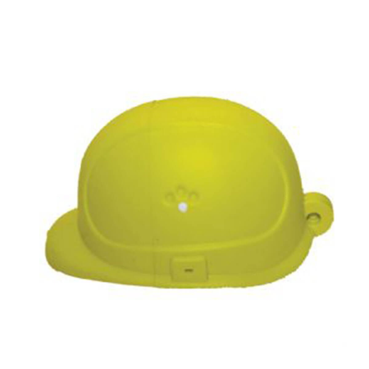 Hard Hat # 1 PVC Flash Drive-You can change up to 2 of the base PVC colours and print your logo in 1-2 colours in 1 position.