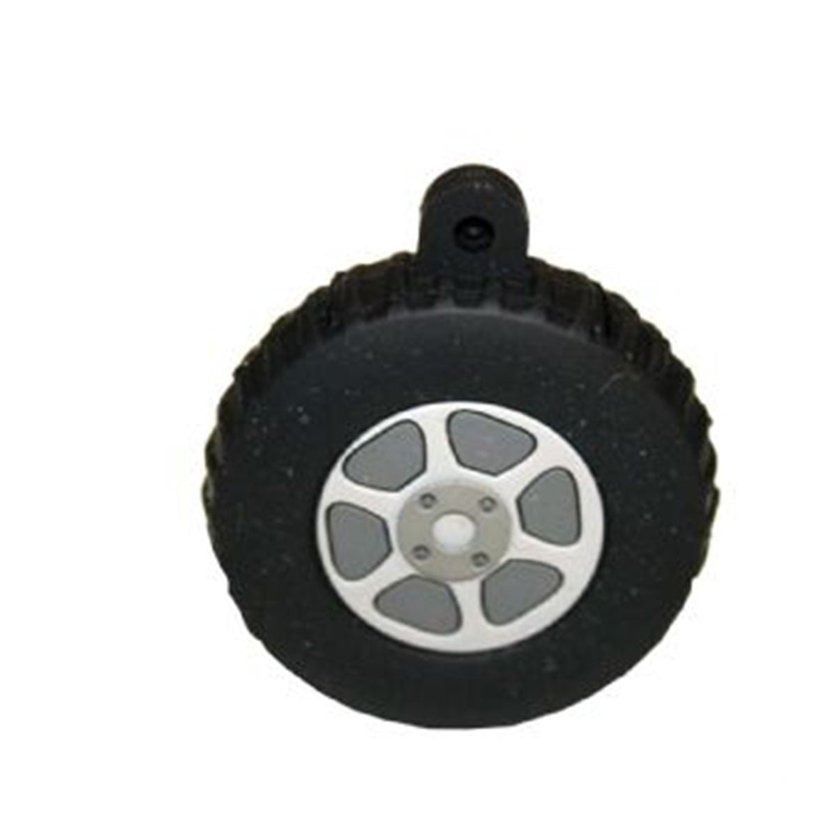 Tyre PVC Flash Drive-You can change up to 2 of the base PVC colours and print your logo in 1-2 colours in 1 position.