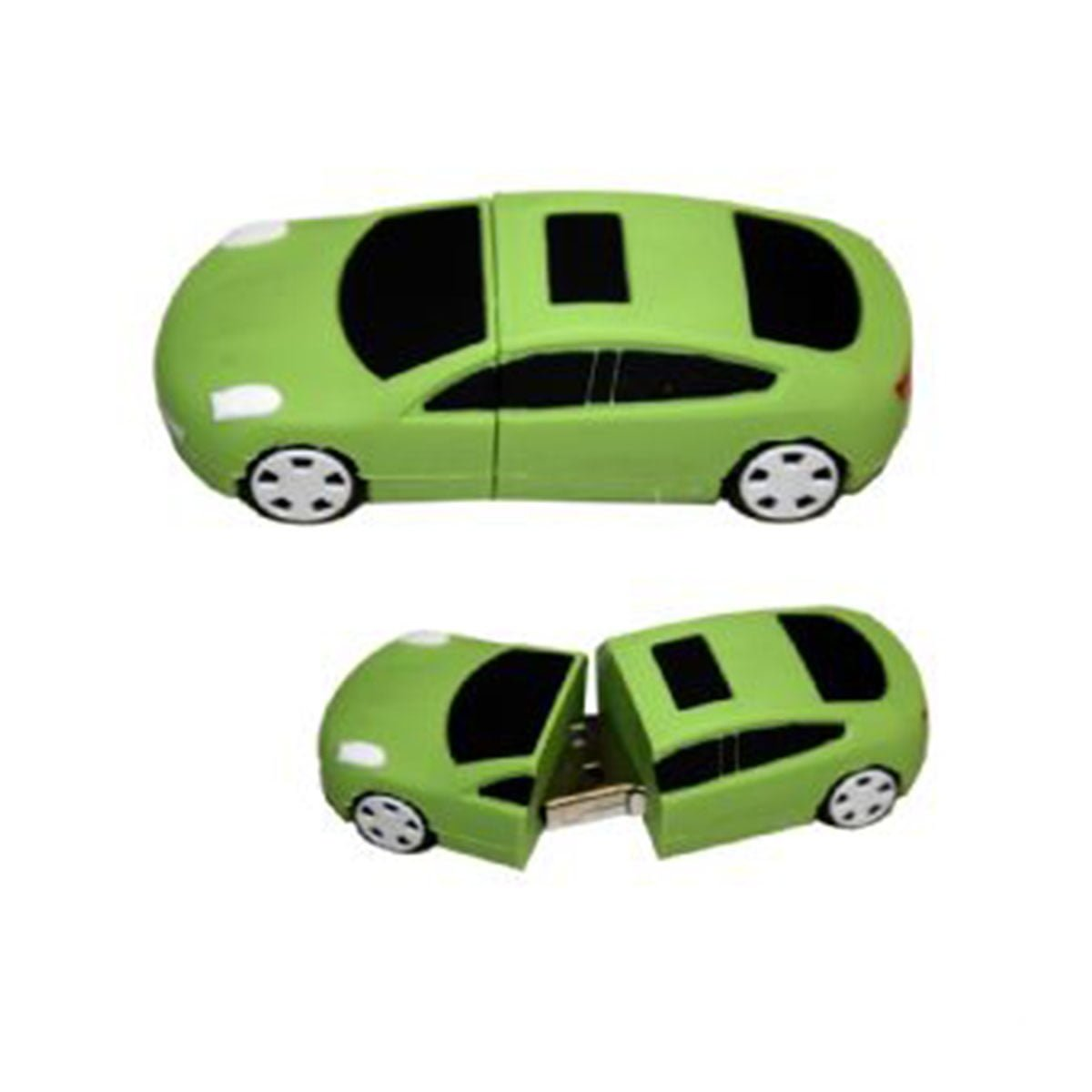 Car PVC Flash Drive-You can change up to 2 of the base PVC colours and print your logo in 1-2 colours in 1 position.