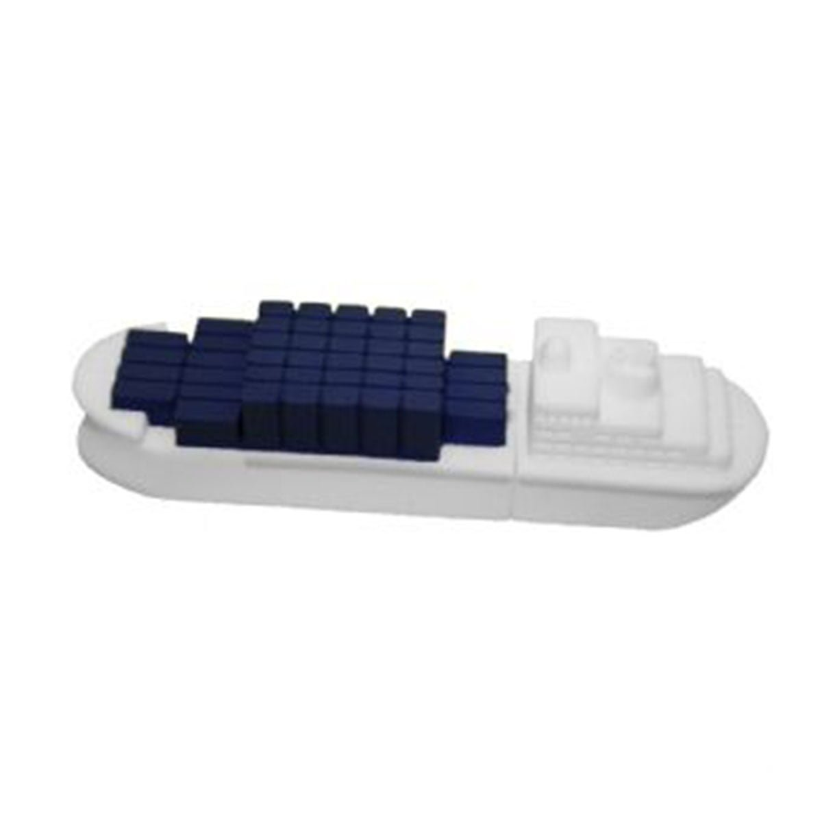 Container Ship PVC Flash Drive-You can change up to 2 of the base PVC colours and print your logo in 1-2 colours in 1 position.