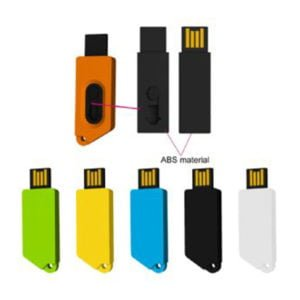 PVC Slider USB Flash Drive