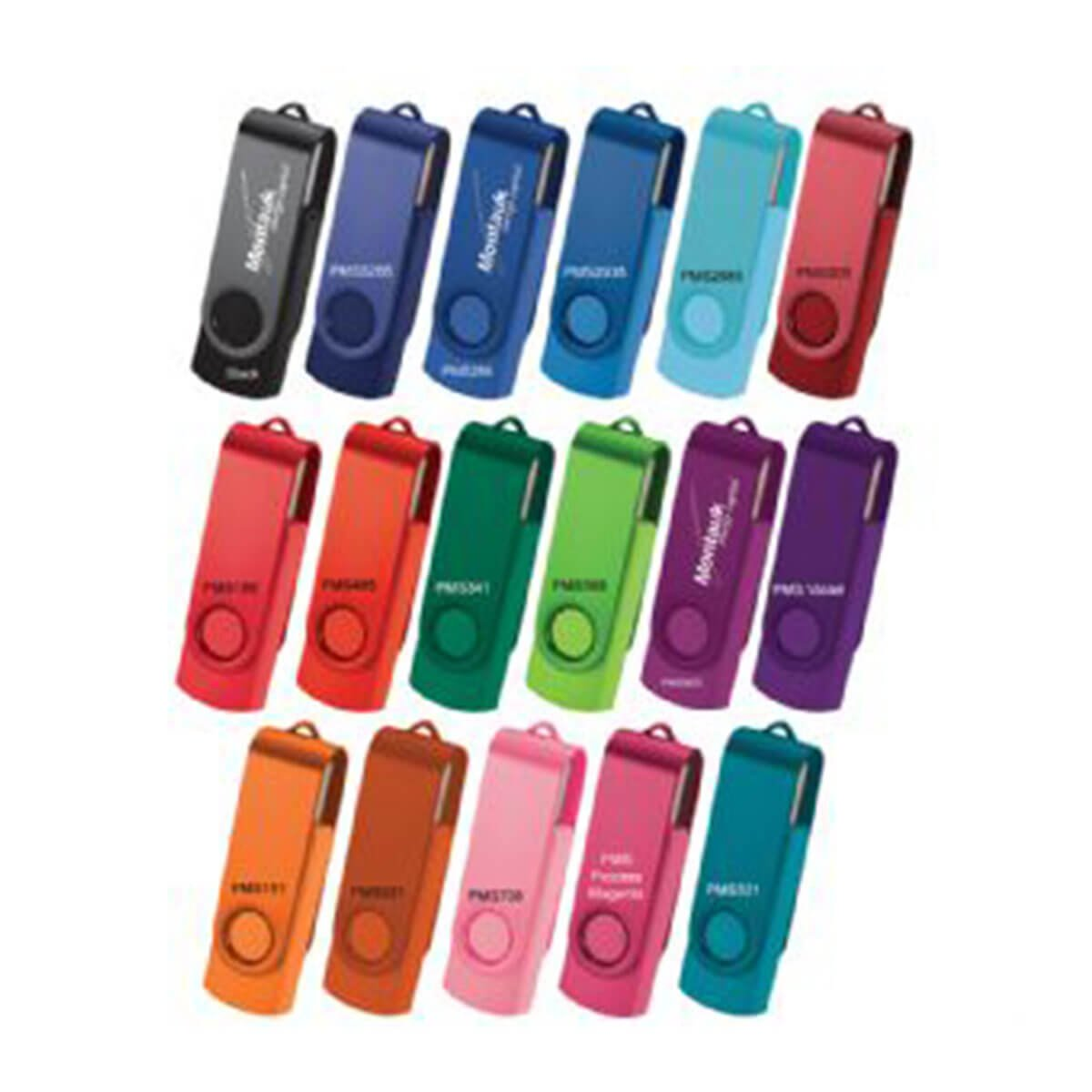 Rotate 2Tone Flash Drive-Available in up to 17 Colours
