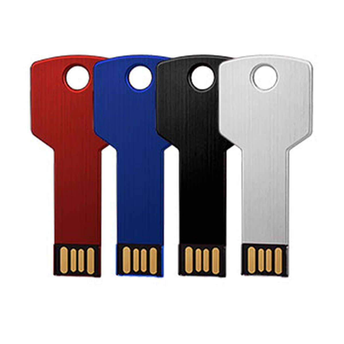 Key USB – Silver-Silver