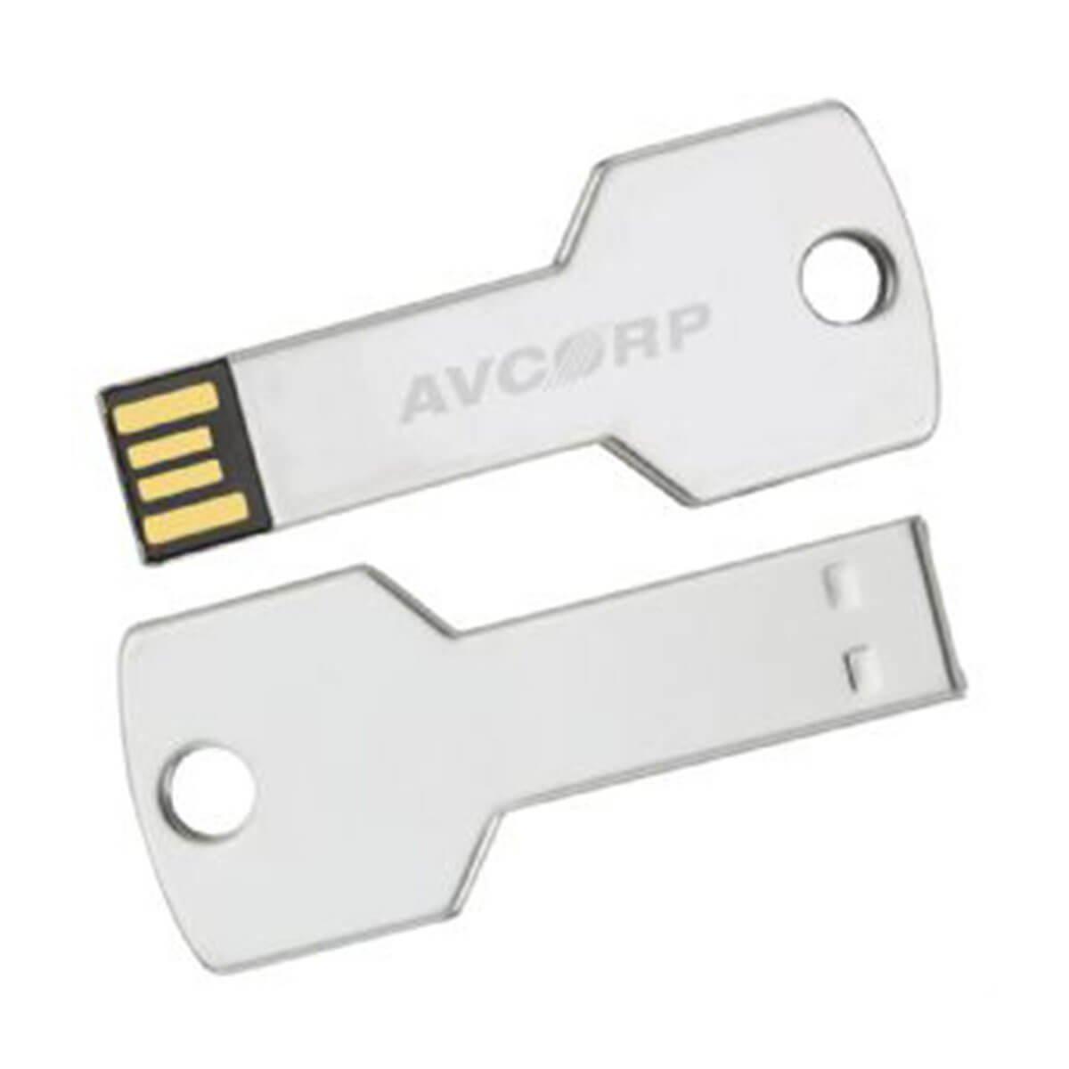 Key Flash USB-Silver.