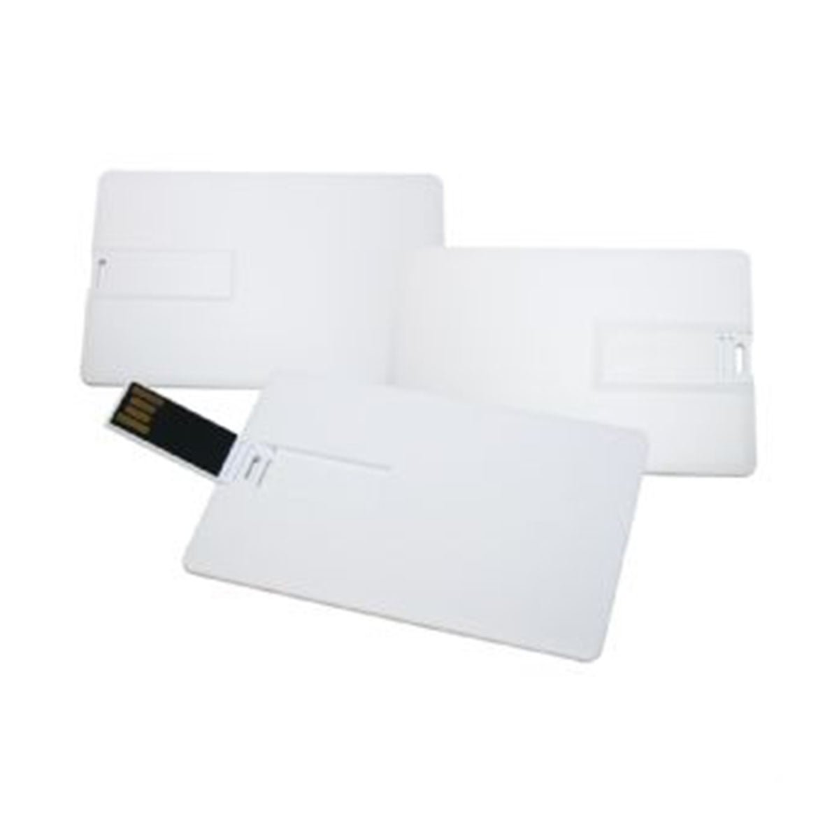 Super Slim Credit Card USB-White.