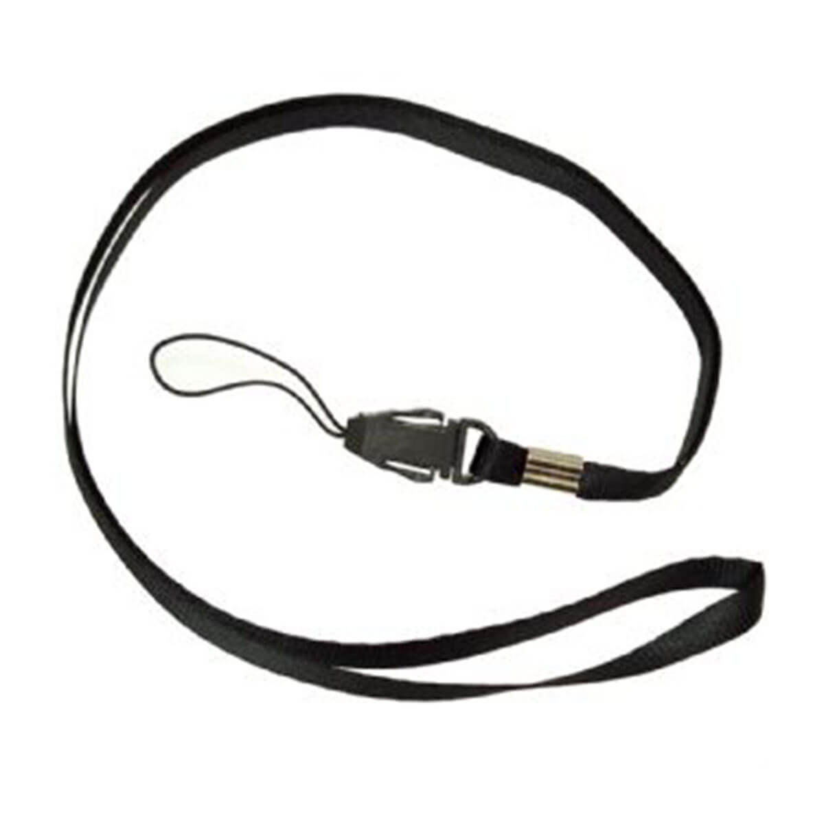 USB Plain Lanyard – Stocked-Black.