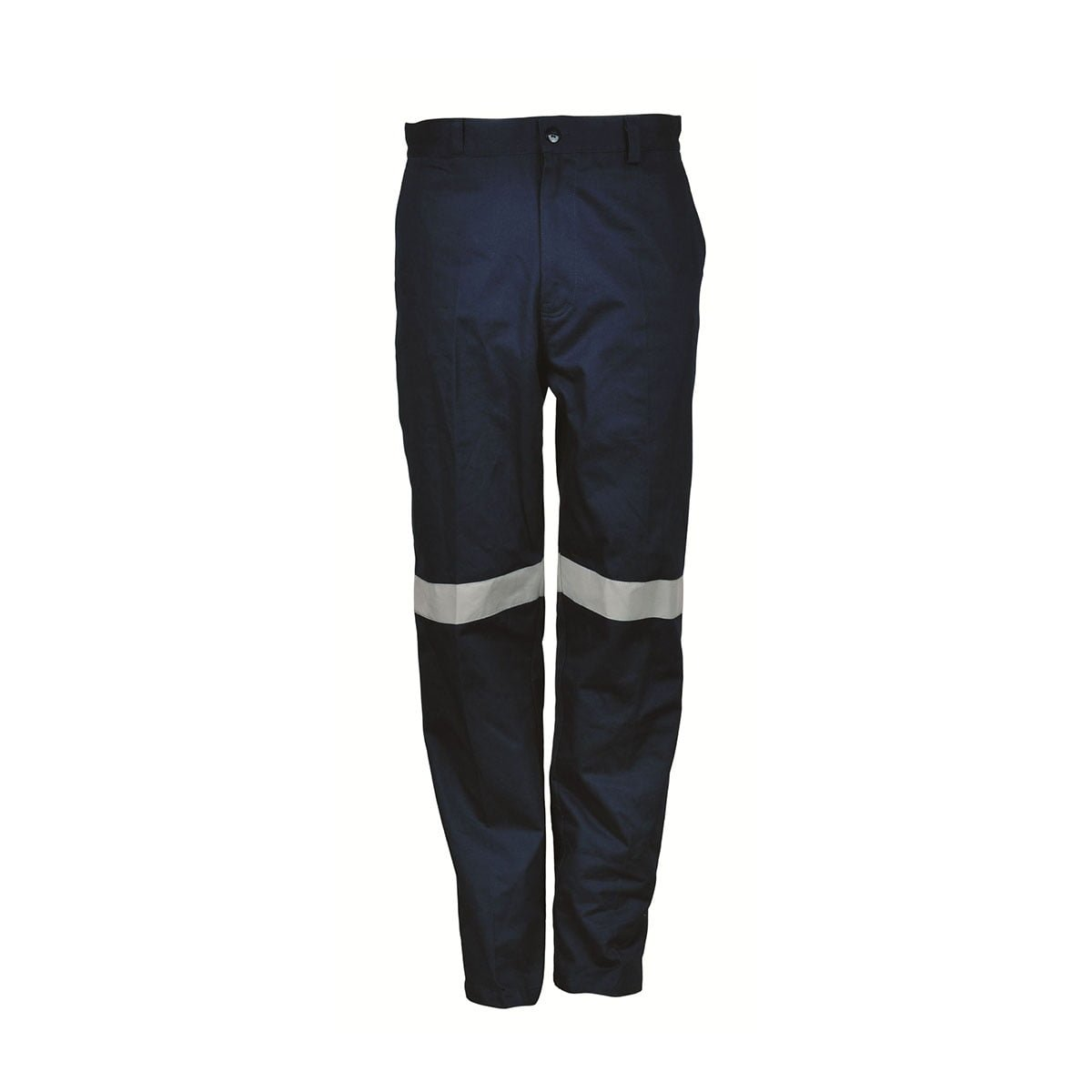 DRILL WORK PANTS WITH TAPE-Navy