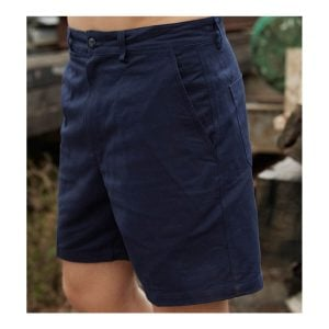 COTTON DRILL WORK SHORTS