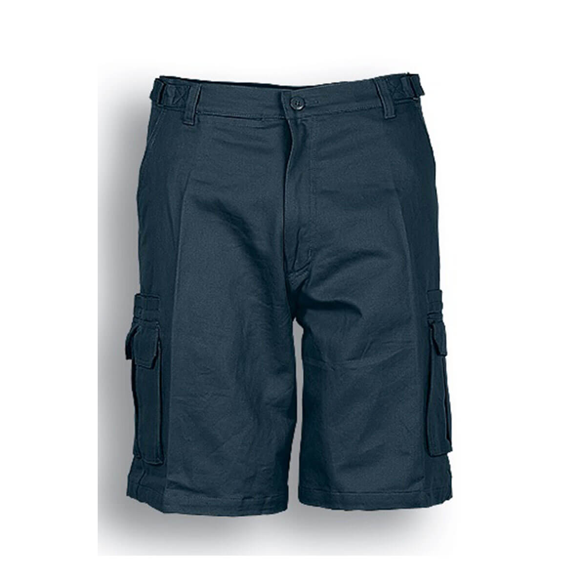 COTTON DRILL UTILITY SHORTS-Bottle