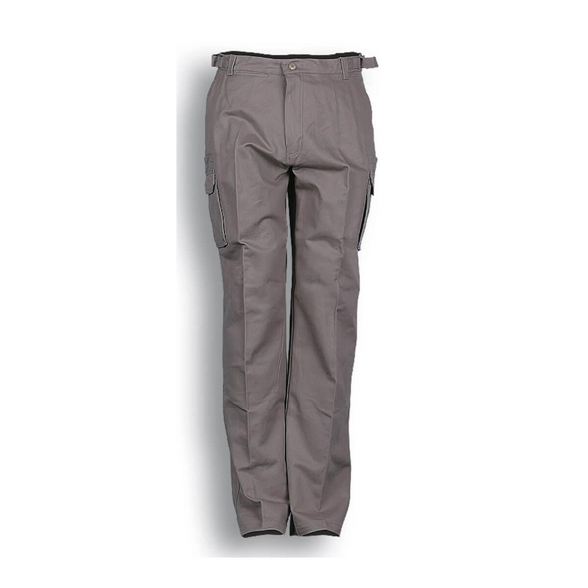 COTTON DRILL CAGO PANTS-Sandstone