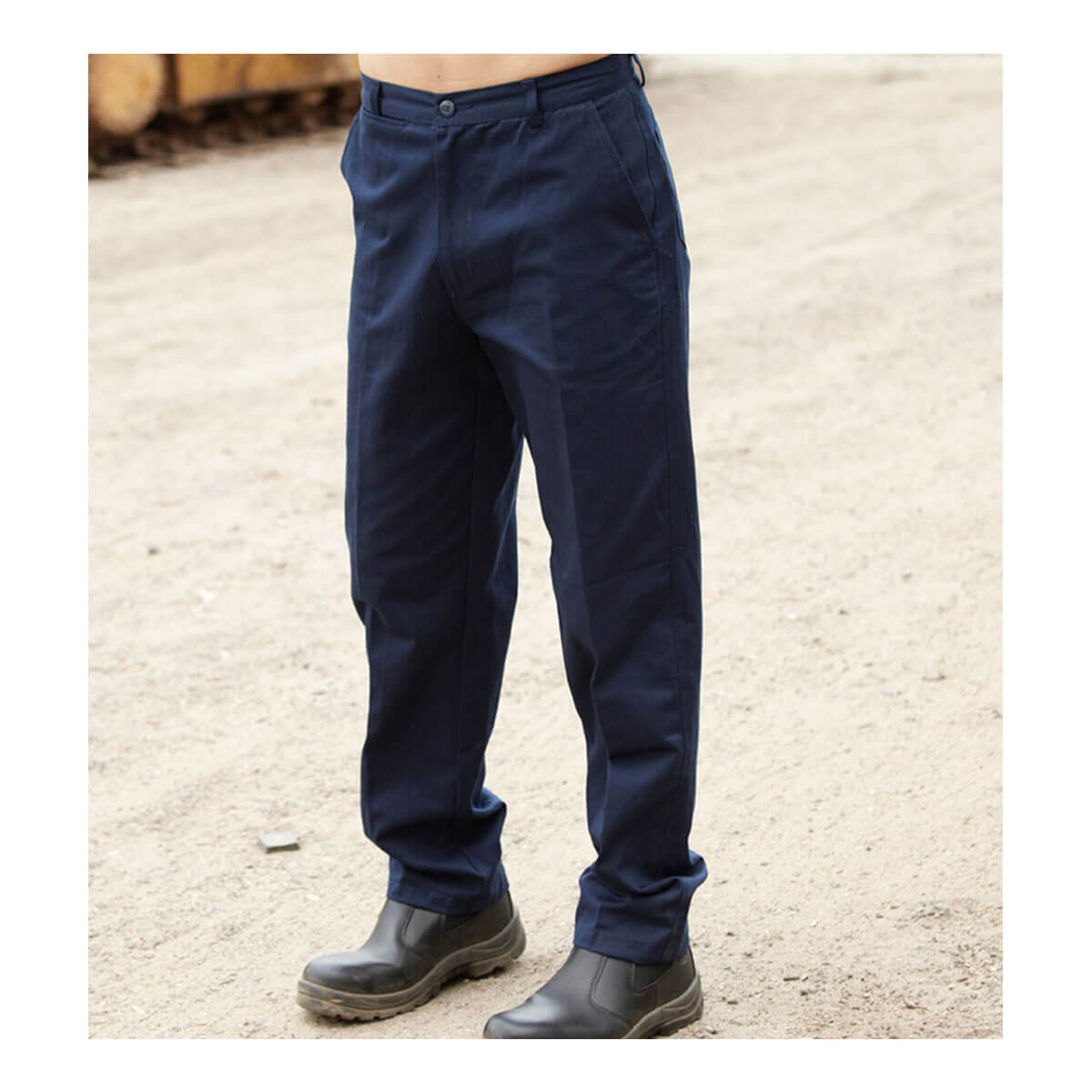 COTTON DRILL CAGO PANTS