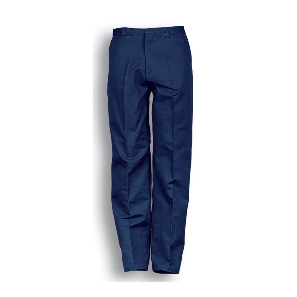 COTTON DRILL WORK PANTS-Navy