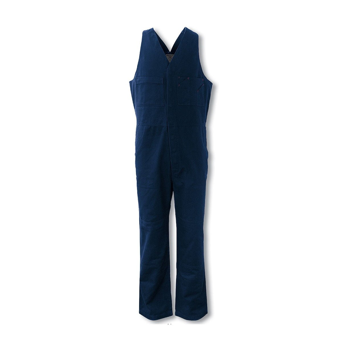 COTTON DRILL ACTION BACK OVERALL-Navy