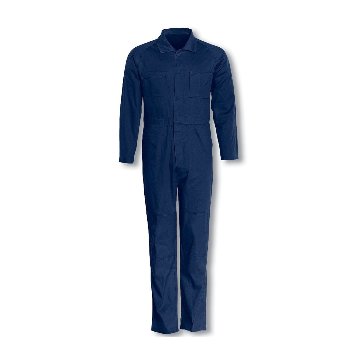 COTTON DRILL OVERALL-Navy
