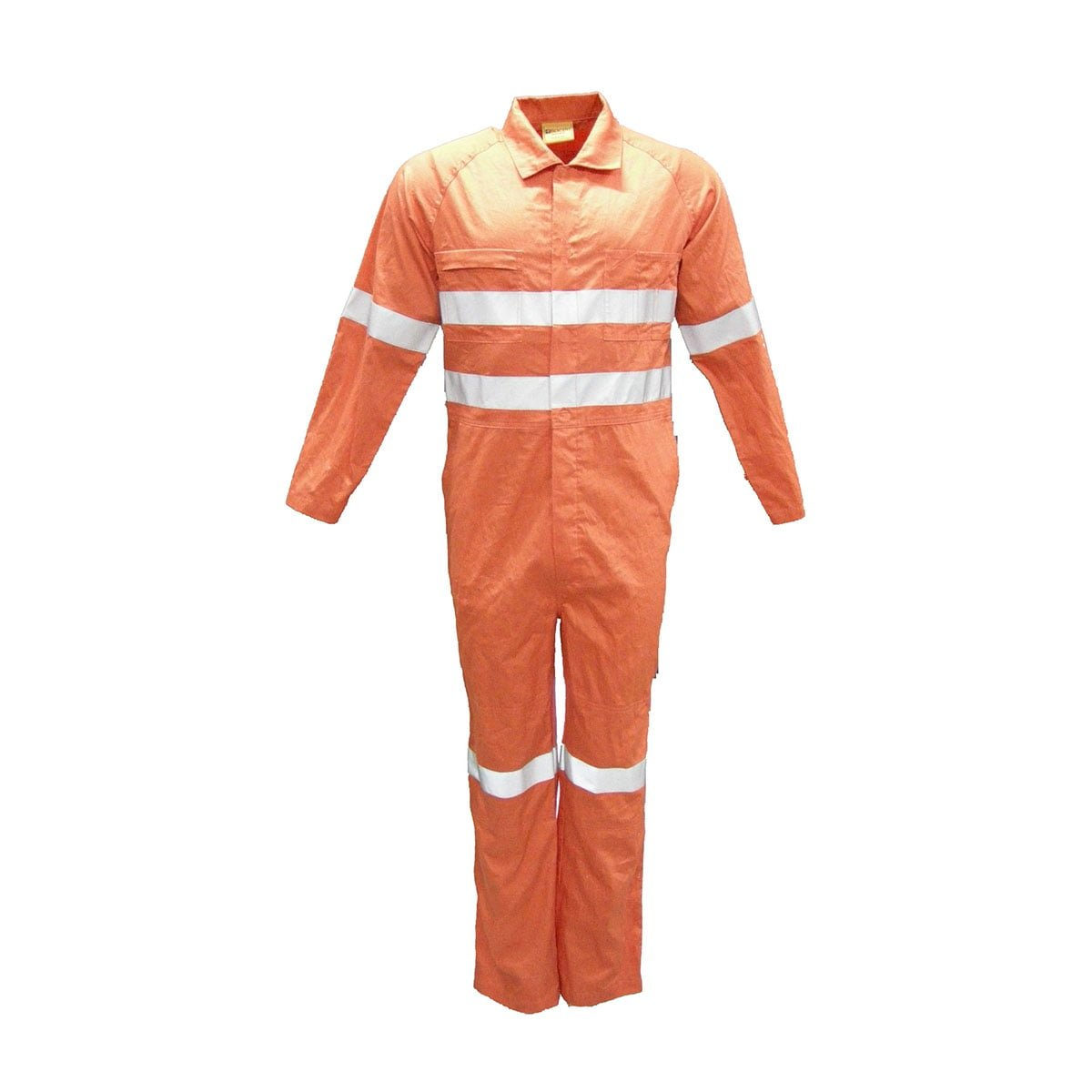 OVERALL WITH X TAPE-Orange