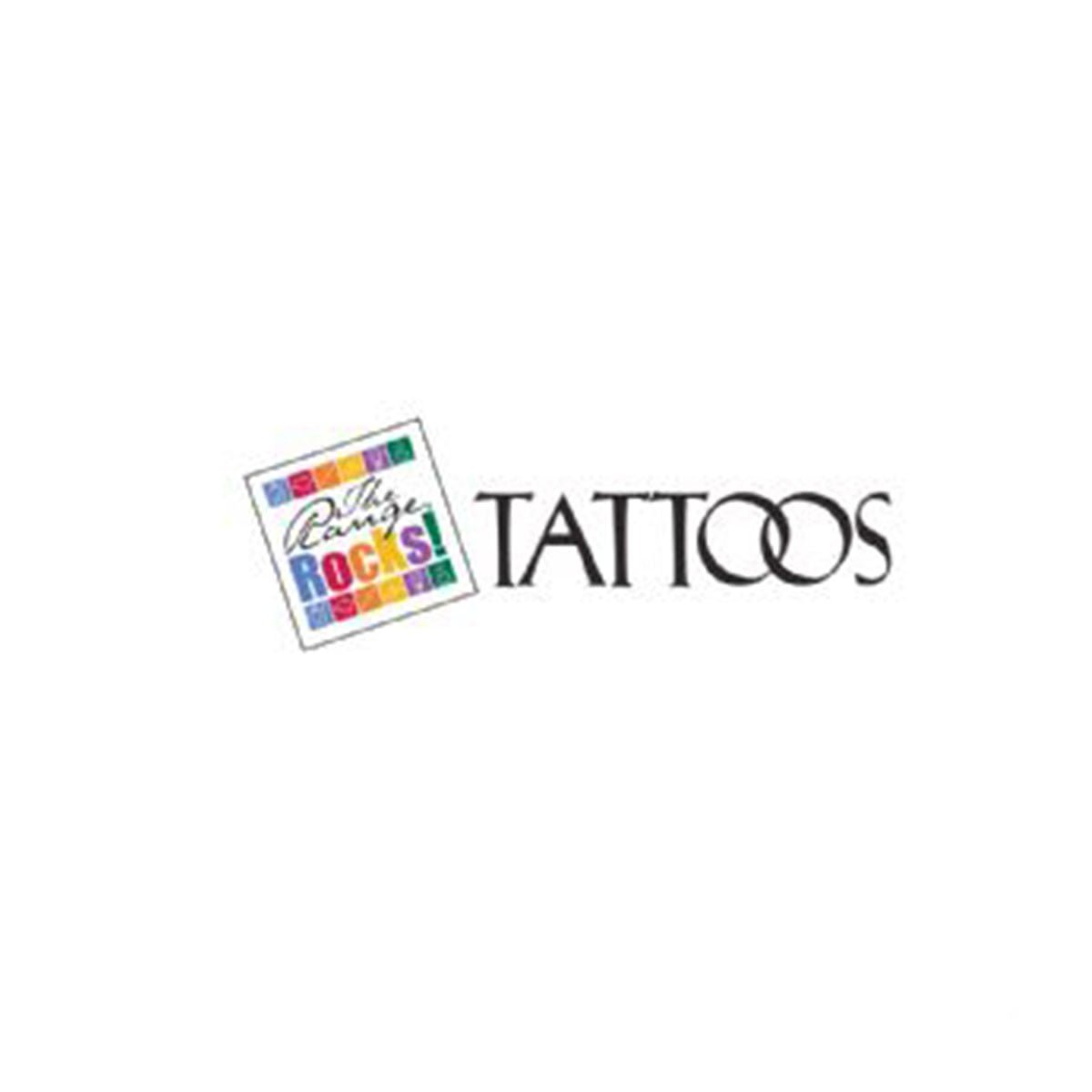 Tattoos-Available in any PMS colour.