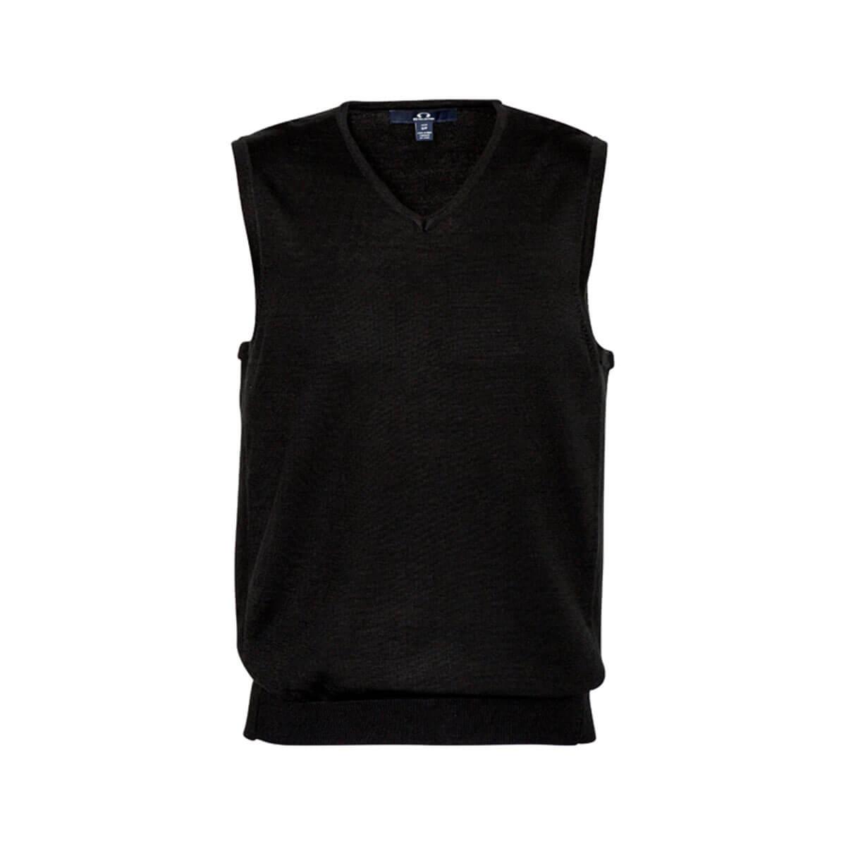 Mens Milano Vest-Black