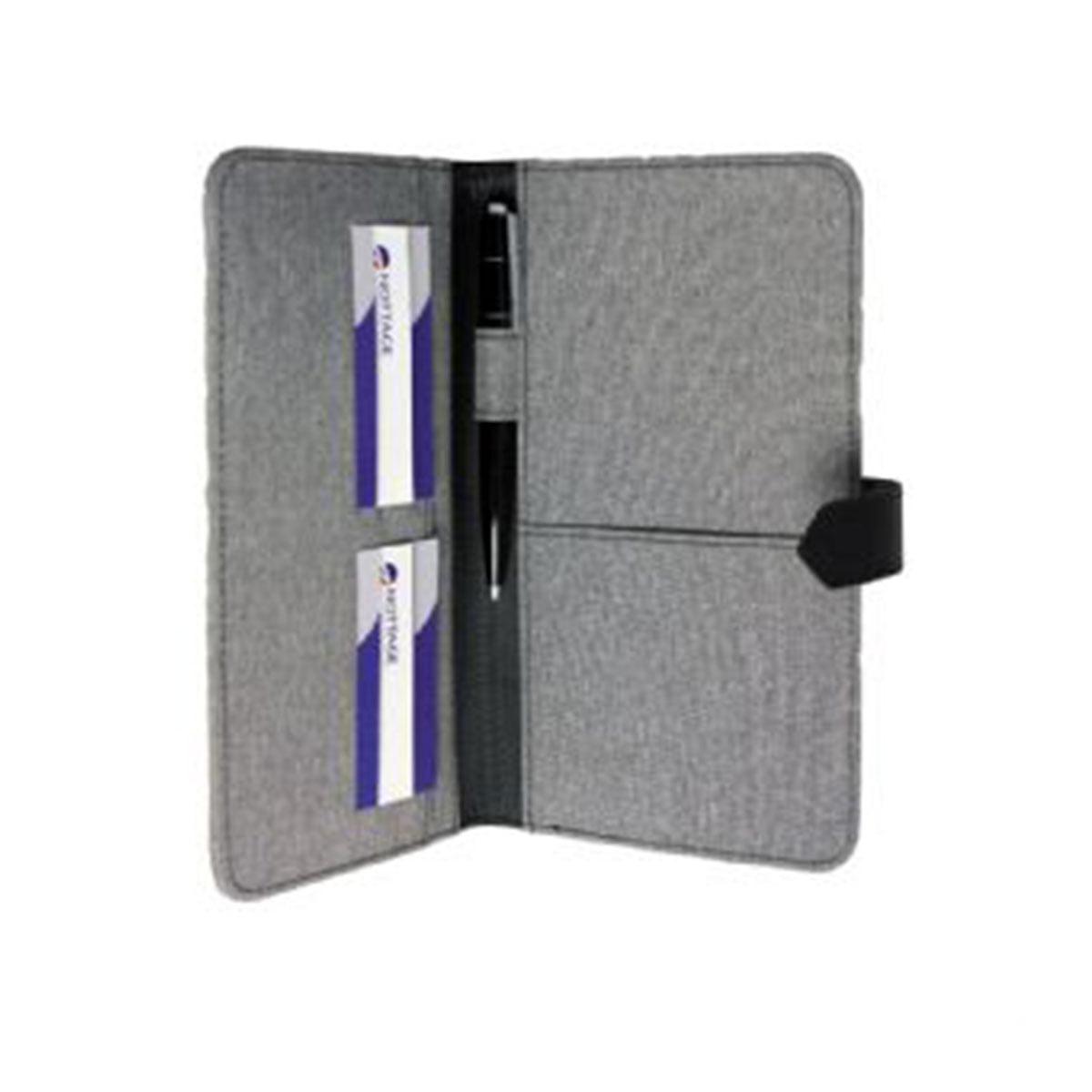 Trekk Passport Holder-Grey
