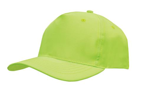 Poly Twill Cap-Fluro Lime