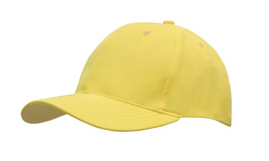 Poly Twill Cap-Gold