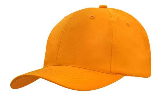Poly Twill Cap-Orange