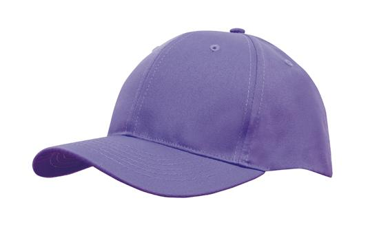 Poly Twill Cap-Purple