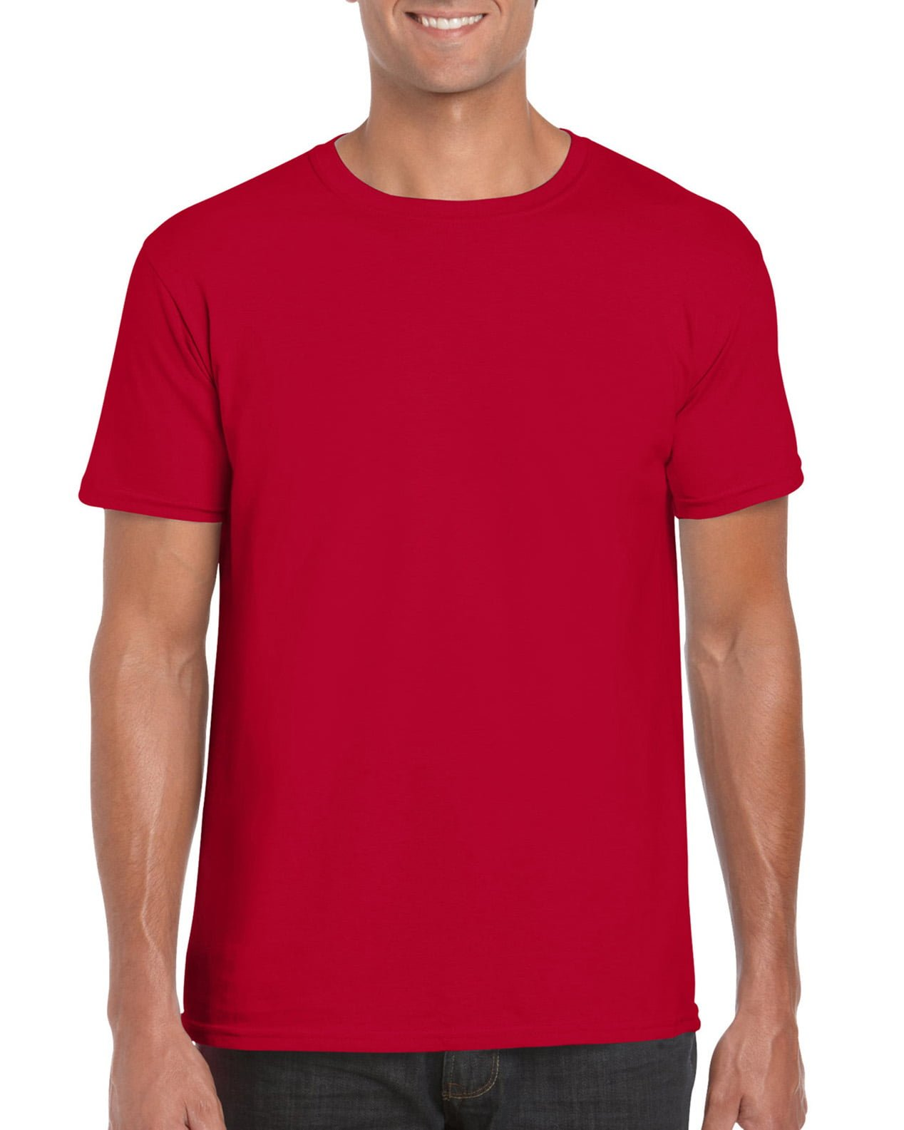 Softstyle Unisex Tee-Cherry Red