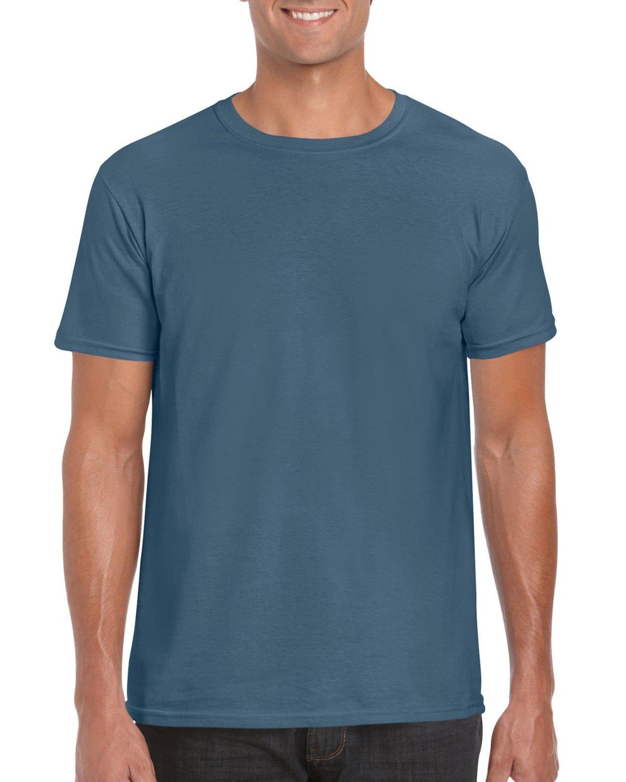 Softstyle Unisex Tee-Indigo Blue