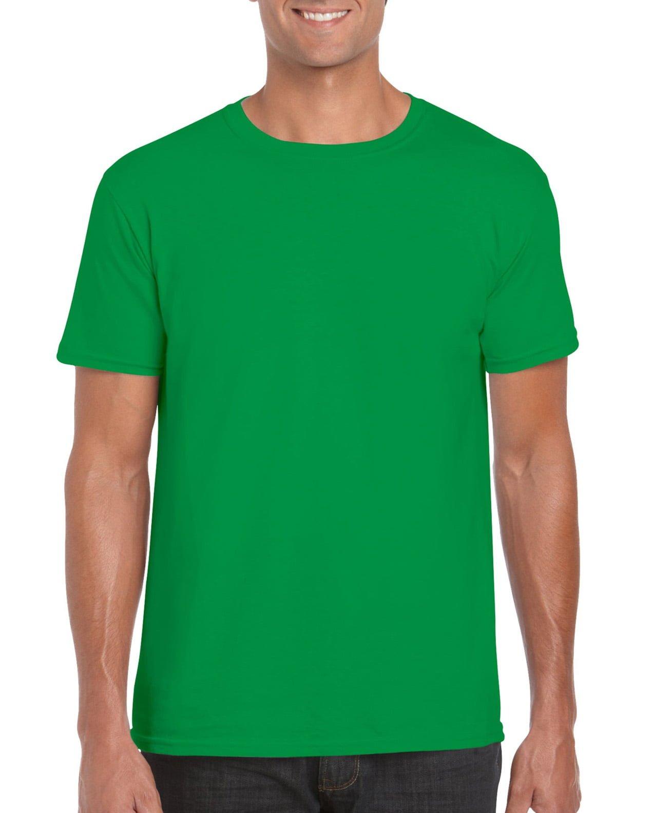 Softstyle Unisex Tee-Irish Green