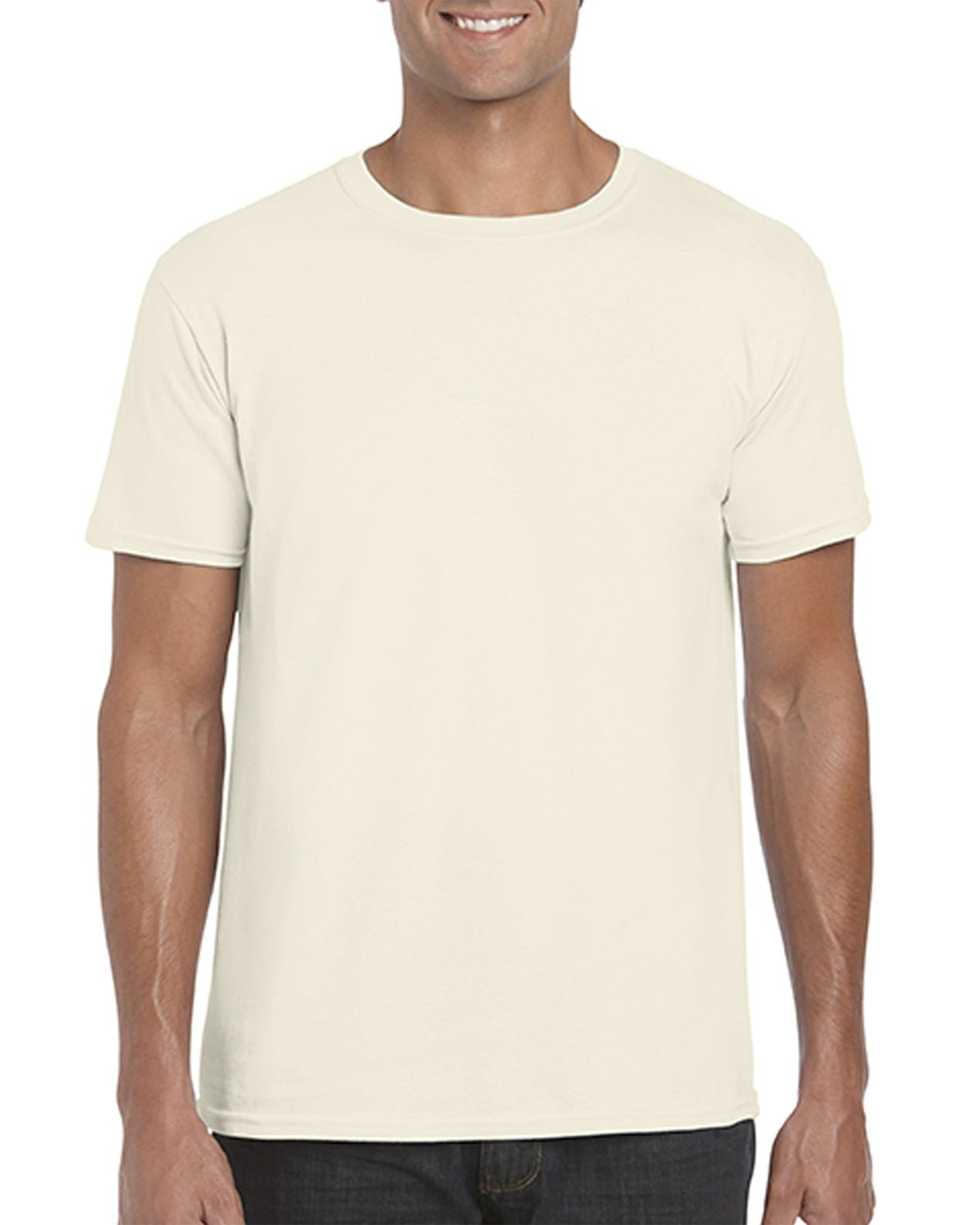 Softstyle Unisex Tee-Natural
