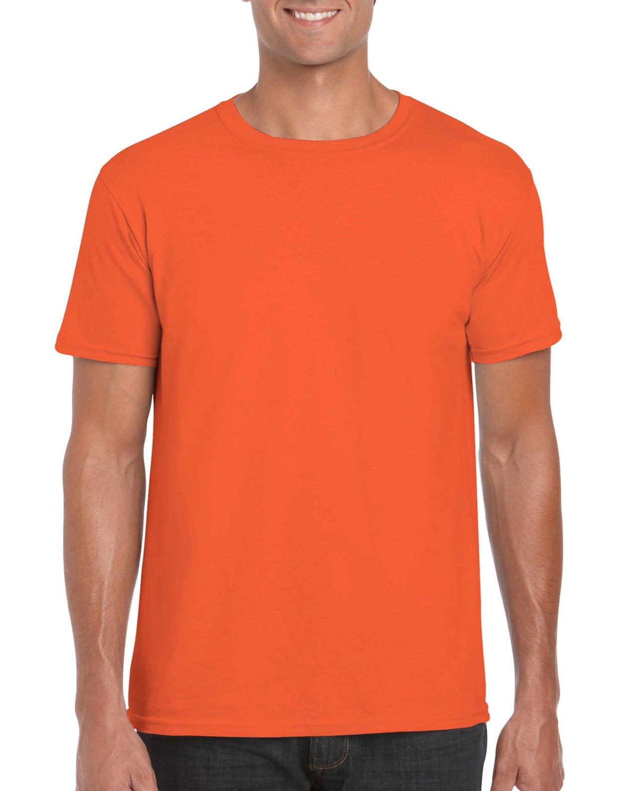 Softstyle Unisex Tee-Orange