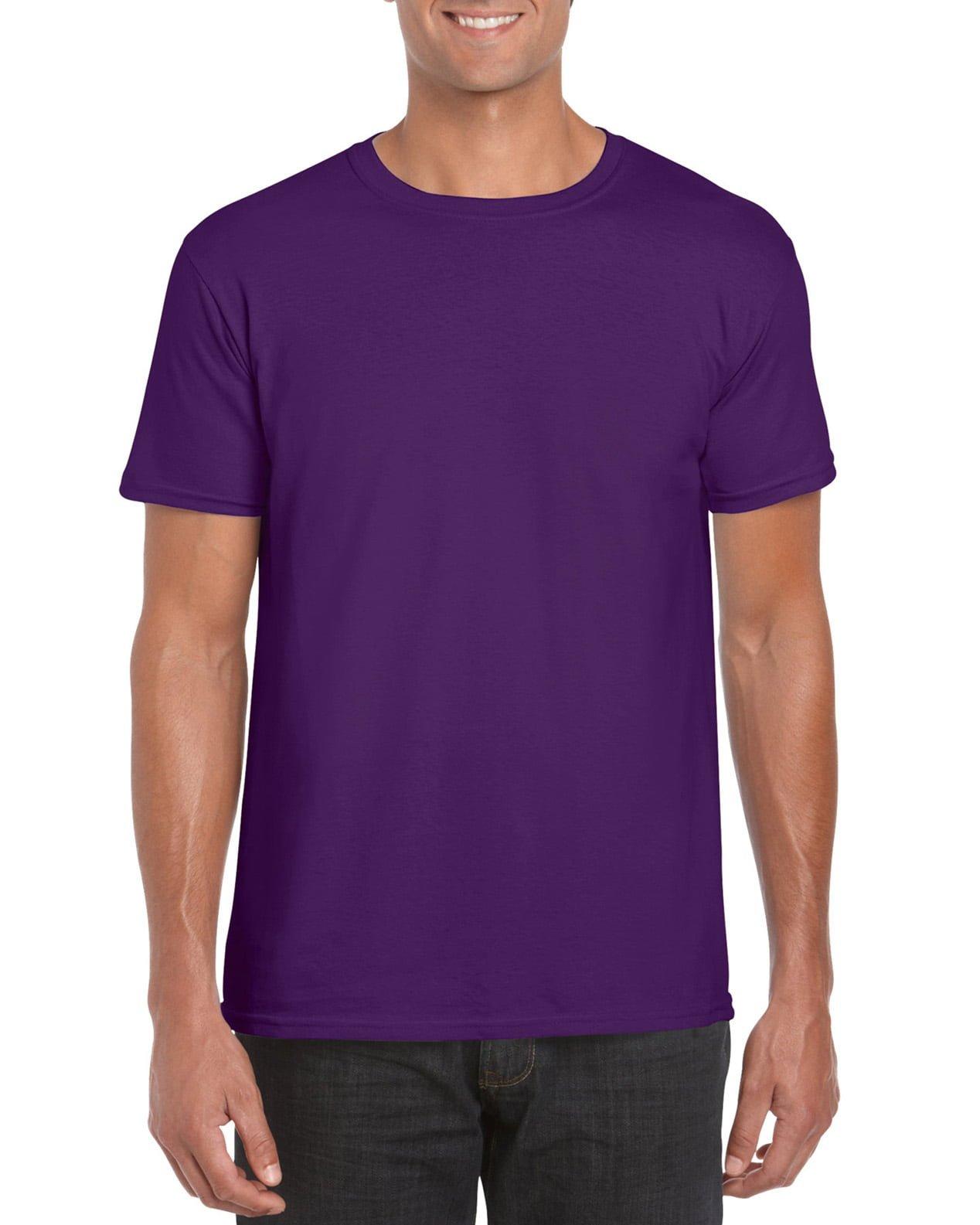 Softstyle Unisex Tee-Purple