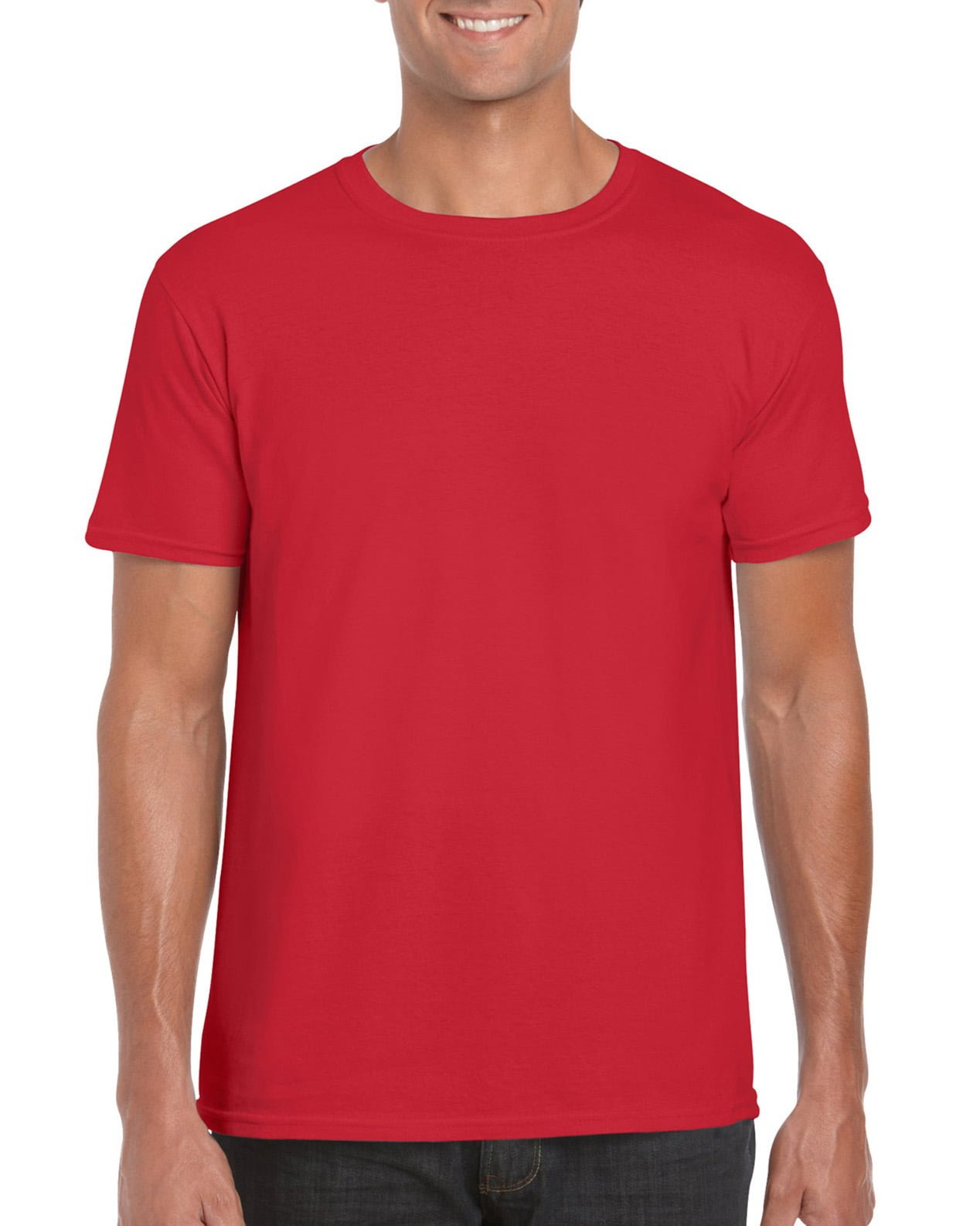 Softstyle Unisex Tee-Red