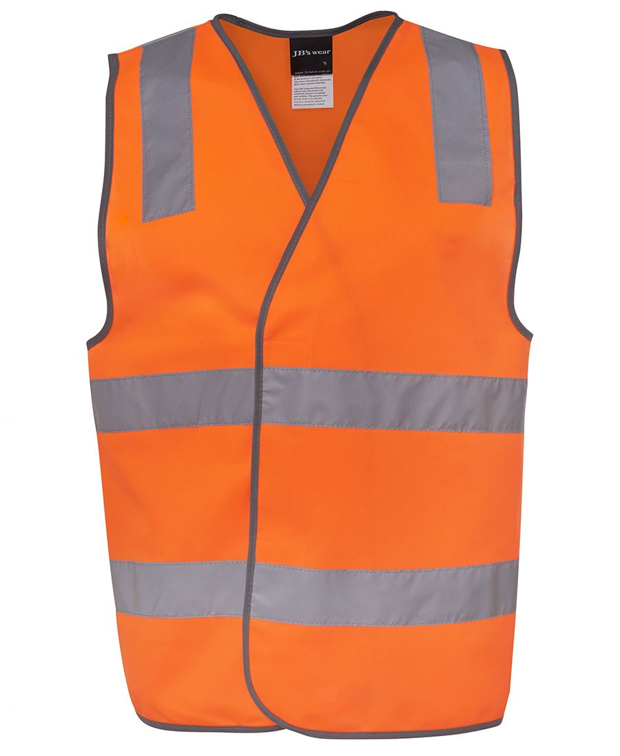 Hi Vis (D+N) Safety Vest-Orange