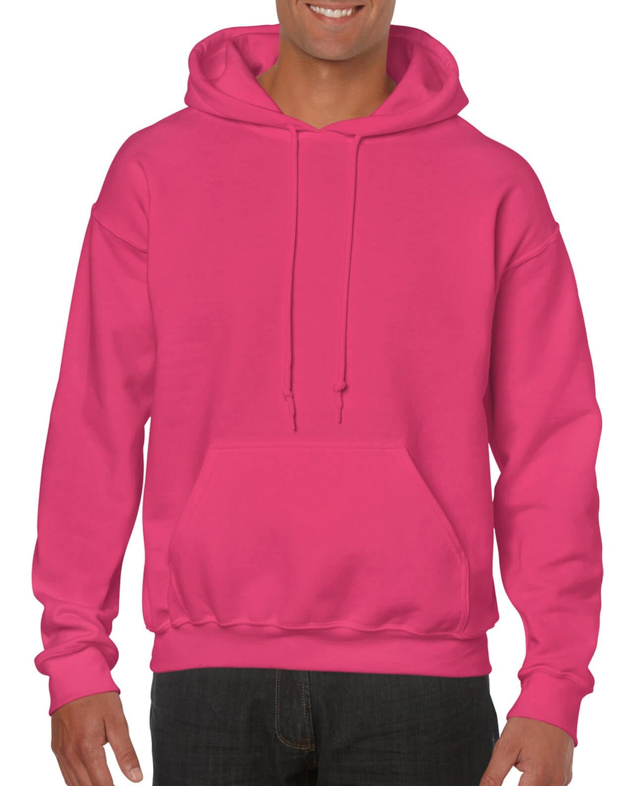 ADULT 50/50 HOODED SWEAT-Heliconia